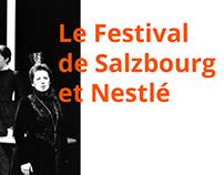 Le Festival de Salzbourg et Nestlé