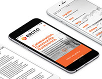 Broto.eco Website Design