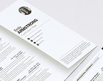 Tri-Fold Brochure Resume