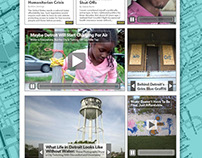 Detroit Water Crisis Web Page