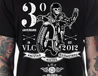 Camiseta para Grupo Custom AMK Valencia