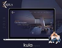 Kula İnşaat - Gayrimenkul Proje Web Tasarımı UI & UX