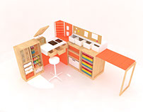 Mini Craft Station - Furniture Assignment