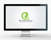 Environmental and Letter e Logo