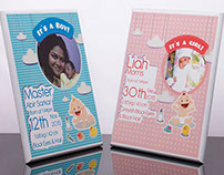 Birth Announcement Plaques