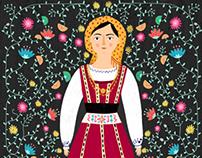 Portuguese folk dress