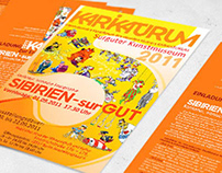 KARIKATURUM Posters and flyers/Germany