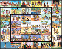 र-42 Illustrated Events of the Mahabharata |PART 1