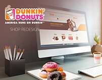 Dunkin' Donuts Shop Redesign