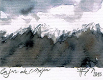 Andes watercolor