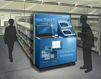 Retail Display: Design and Renderings