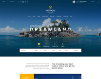 Vetrov - Hotel, Tours & Travels PSD Template