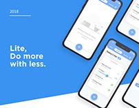 Lite - UI Design
