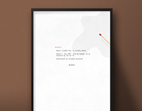 Misery| Movie Poster Design