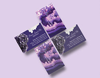 Peace Love Me Crystals Business Cards