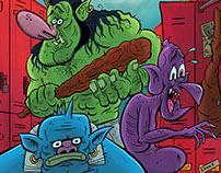 Monster Locker Room