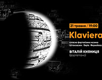 Poster / Klavierabend / Contemporary music for piano