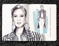 Sketchbook / Fashion Illustration 02