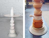 ceramico coffee table