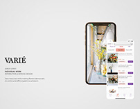 VARIÉ - An online and offline system to save flowers.