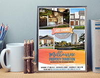 Poster Design : Melbourne Property Exhibition