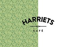 Affichage print/web - Restaurant Harriets