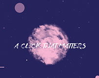 A Click That Matters | Publication Design