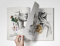 "Illustration for the ""Ремикс"" magazine"