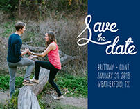 Print // Save the Date Templates