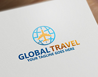 Global travel | Logo Template