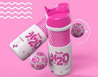 H2O Bottle For Adobe Dimension