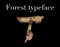 Forest typeface