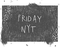 Friday Nyt Zine // Illustration // Publication
