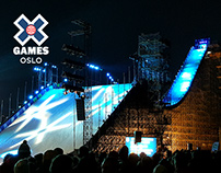 X Games Oslo 2016 | Arena branding