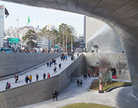 Dongdaemun Design Park and Plaza, Seoul, South Korea