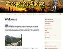 Prospectors Choice Web Store