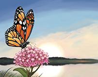 MN Pollinator License Plate