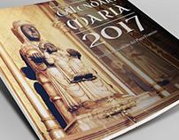Calendario mural mariano
