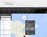 Product Design: VantagePoint Online Tracking Software