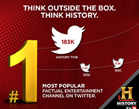 Emailer - Twitter popularity for HistoryTV-18