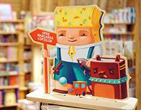 Carturesti Bookstores - Character Design