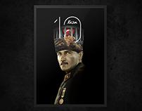 10 Kasım - Atatürk Poster Tasarımı