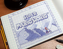 Redesign of the classic game Super Mario World