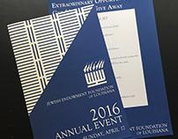 JEF Annual Event: Invitation and Program