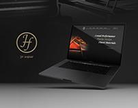 JF Artfield - Piano Website Design