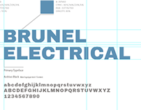 Brunel Electrical logo design & branding
