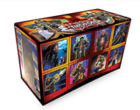 Packaging and marketing collateral for Konami