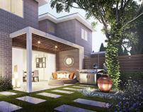 Residential Exterior Renderings(Modern)