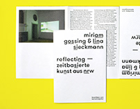 Vorgang I – Exhibition Catalogue