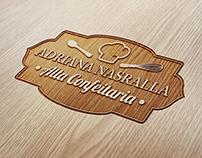 Adriana Nasralla logo design